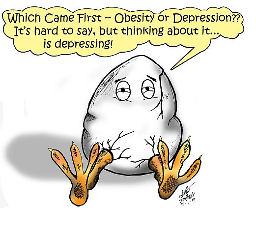 The Depressing Nature of Obesity